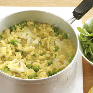 Artichoke and Pea Risotto.