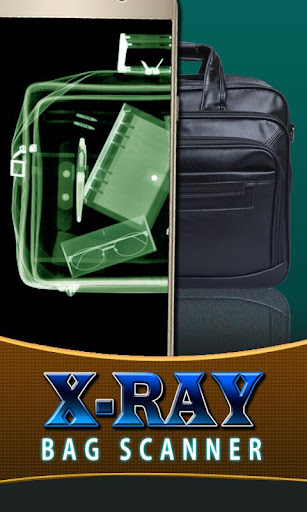 X-Ray Bag Luggage Scan Prank