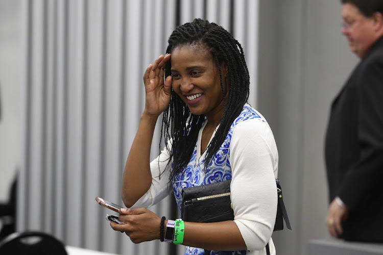 Former president Jacob Zuma's daughter, Duduzile Zuma. File photo.
