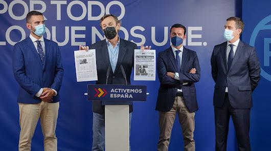 """El PP ironiza con el """"concierto"""" de la Cámara sobre el AVE tras los PGE"""
