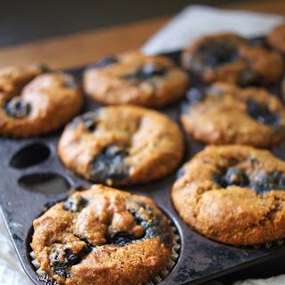 Pumpkin Spice Blueberry Muffins
