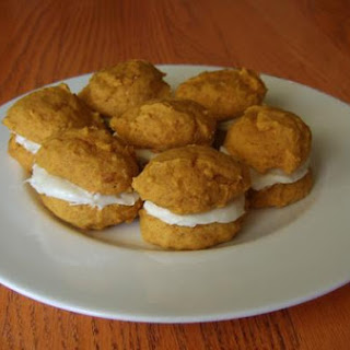 Spicy Carrot and Orange Whoopie Pies