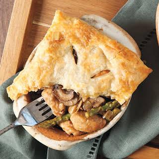 Chicken Madeira Pot Pies.