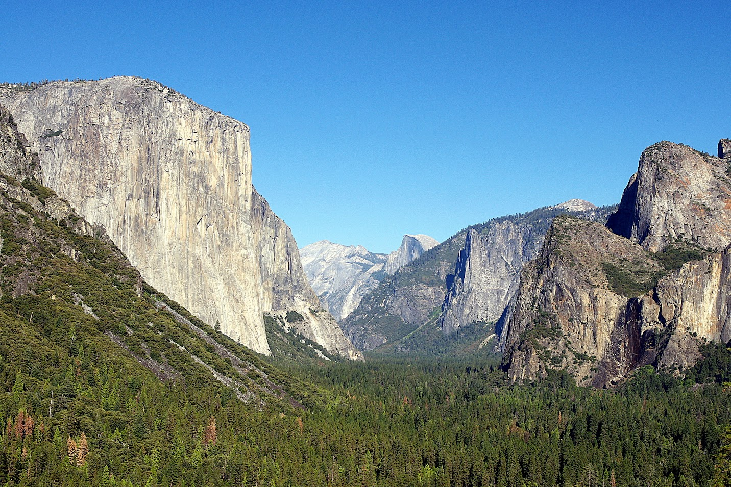 Valle de Yosemite, Tunnel View