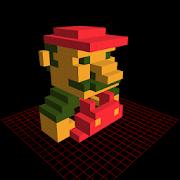 3d pixel art creator