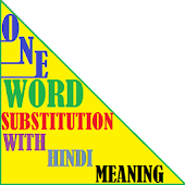 One Word Substitution SSC CGL