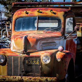 car, truck, classic car, old truck, by Jay Woolwine Photography - Transportation Automobiles ( transportation, old truck )