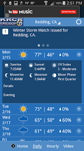 KRCR WX- screenshot thumbnail