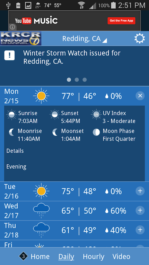 KRCR WX- screenshot