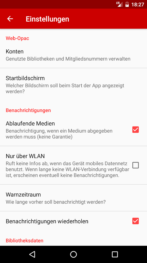 Web Opac: 1.000+ Bibliotheken – Screenshot