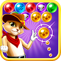 Witch Cat Pop Bubble Shooter icon
