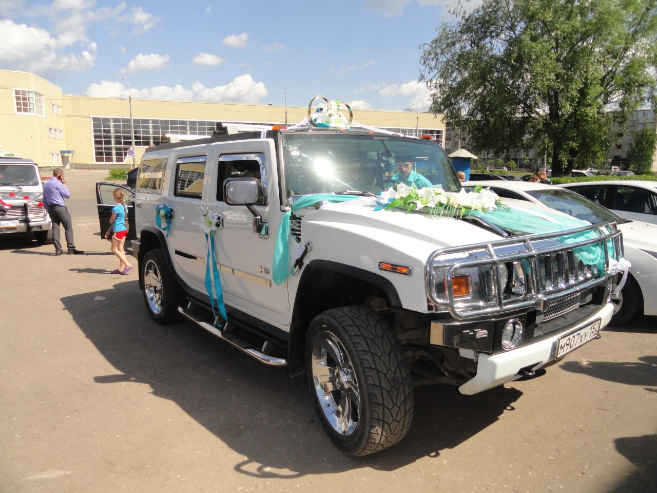 Hummer H2 в Нижнем Новгороде