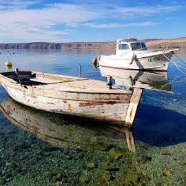 Old Boat by Dražen Komadina - Transportation Boats ( old boat, croatia, kom@dina, jadranovo, dražen komadina )