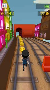 Subway Train Runner 3D screenshot