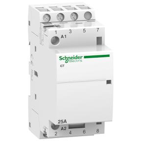 Schneider iCT 25A 3P med 3sl kontakter