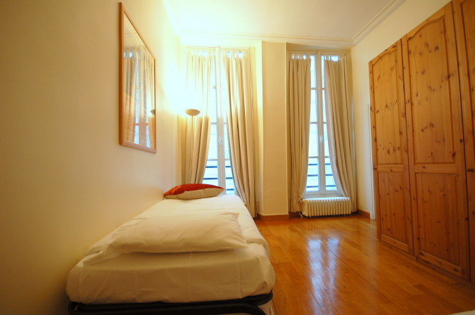 Single bed bedroom at Rue Coquillre