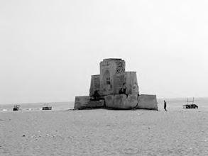 Photo: Karl Schmidt monument - Besant nagar beach