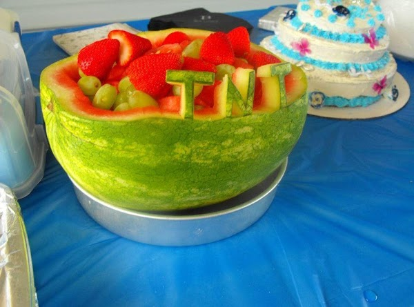 How To Carve A Watermelon Basket Recipe