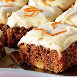 Carrot Cake with Maple Cream Cheese Icing.