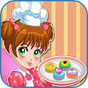 macarons cooking game icon
