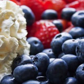 Patriotic Fruit Tart.