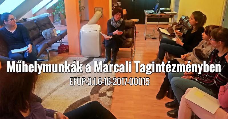 Műhelymunkák a Marcali Tagintézményben 2019
