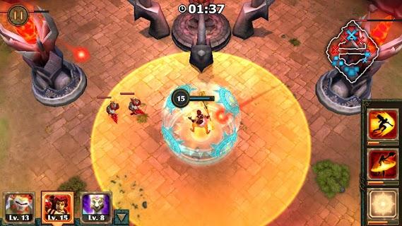 Legendary Heroes MOBA screenshot 00