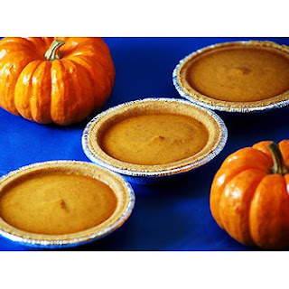 Pumpkin Pie Custard Tarts