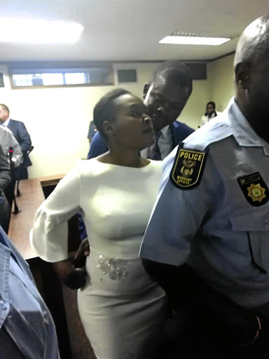 Bushiri and his wife in court.