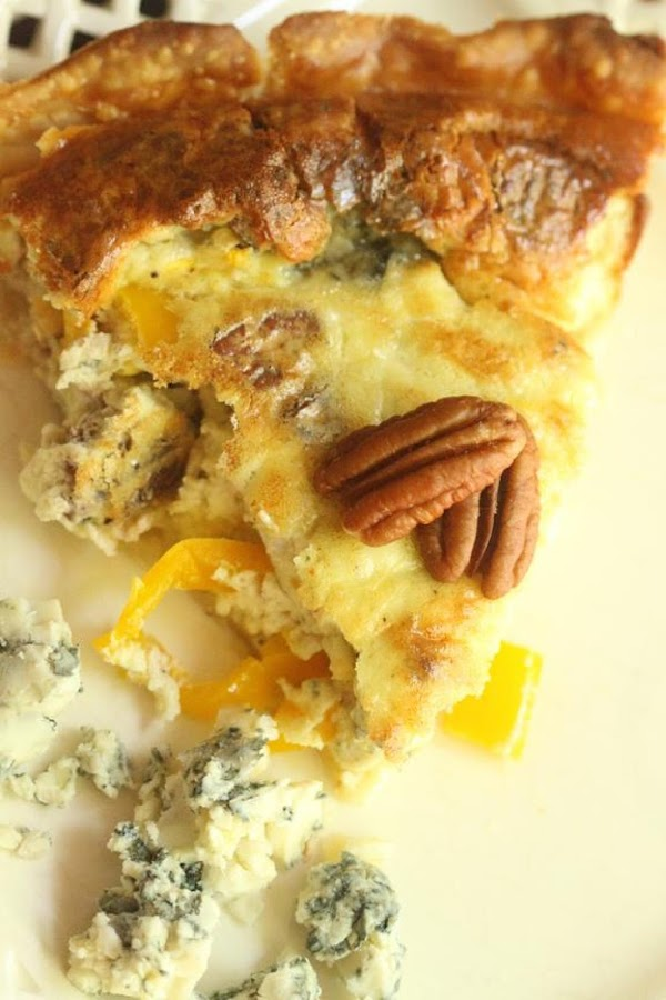 Bacon And Blue Cheese Quiche Recipe
