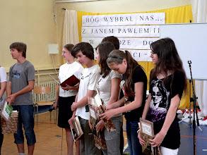 Photo: XI Finał konkursu Bóg-Honor-Ojczyzna w Gimnazjum Nr 1 im. Papieża Jana Pawła II w Płońsku