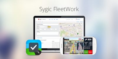 Screenshot of Sygic FleetWork