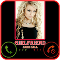 Sexy Girlfriend Fake Call icon