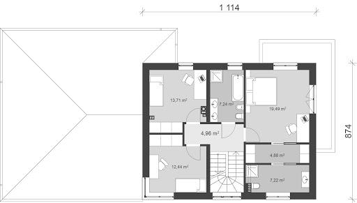 UA30 - Rzut piętra