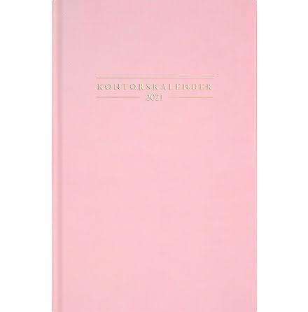 Kontorskalender rosa