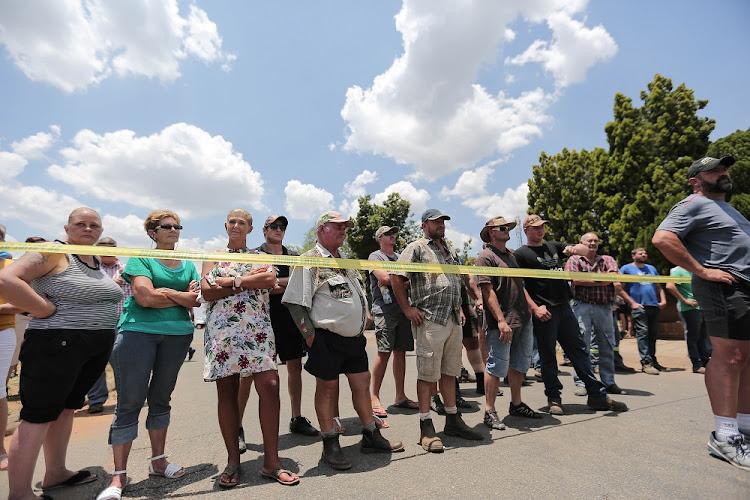 Several People Arrested At Ho 235 Rskool Overvaal After Petrol