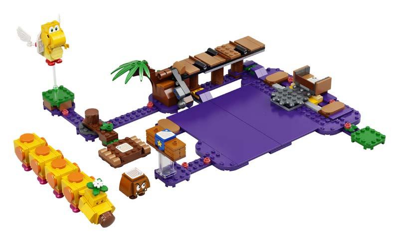 Contenido de Lego® 71383 Set de Expansión: Pantano venenoso de la Floruga