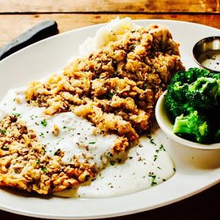 The Hirshon Chicken-Fried Steak with Cream Gravy Recipe