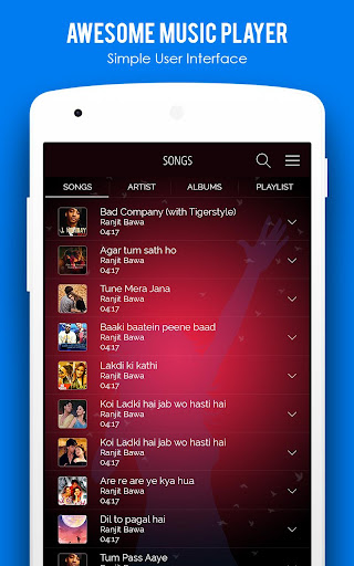 MX Audio Player- Music Player 1.22 screenshots 3