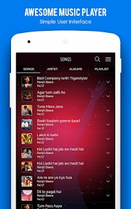 MX Audio Player- Music Player App Download For Android 3