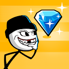 Stickmin Stealing the Diamond