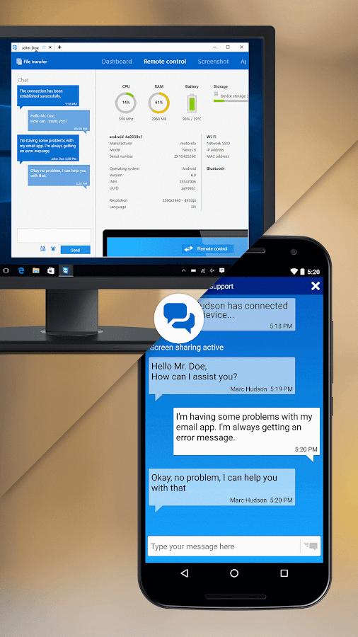 TeamViewer QuickSupport- screenshot