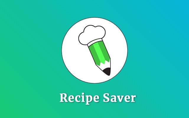 Recipe Saver Extension