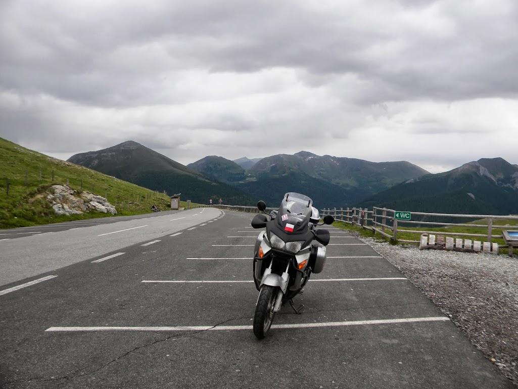 Nockalmstrasse motocyklem