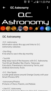 OC Astronomy- screenshot thumbnail