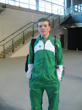 Photo: Daniel Ryan, Junior Boys Combined Events Irish Team 2012