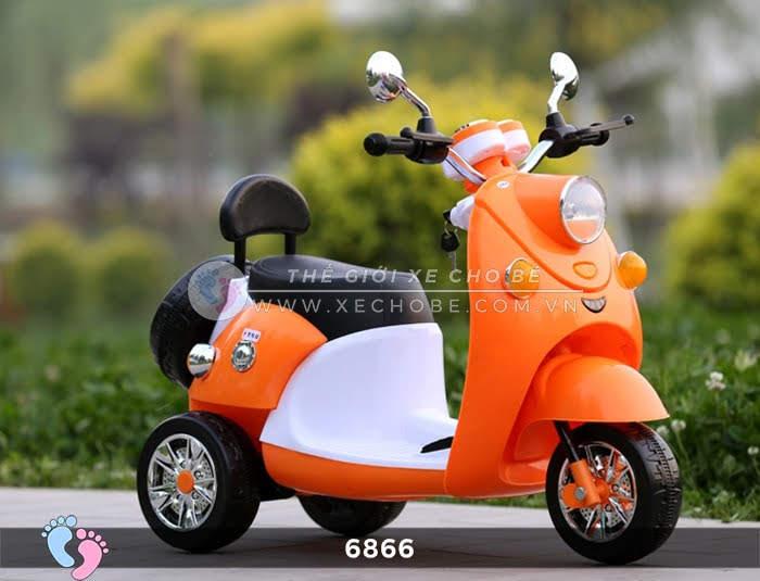 Xe máy điện cho bé Mio 6866 6
