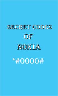 Secret Codes of Nokia - náhled