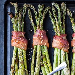Bacon Asparagus Bundles.