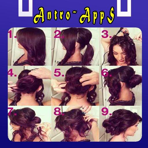 女人发型教程 生活 LOGO-玩APPs